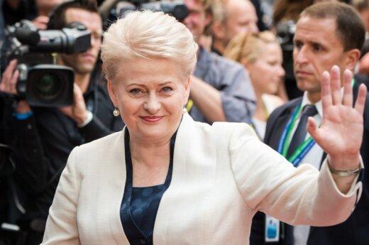 Dalia Grybauskaitė o Renacie Cytackiej: W polityce nie powinien dominować szantaż