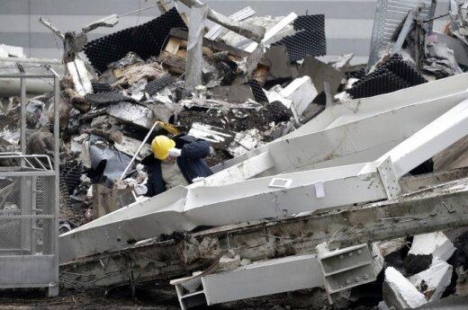 """W centrum handlowym """"Maxima"""" ponownie zawalił się dach"""