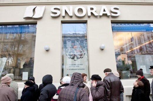 Bankructwo Snorasa kosztowało 111 milionów litów