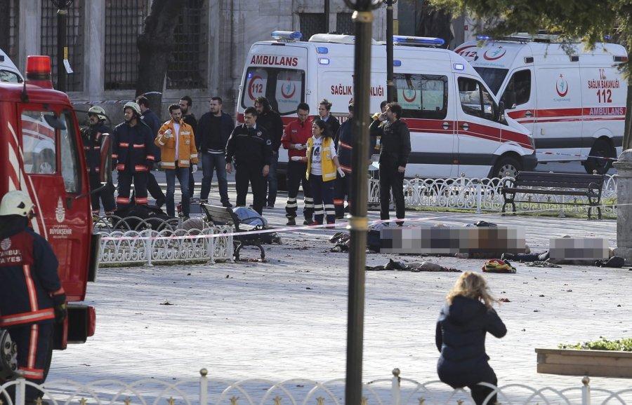 Взрыв прогремел в центре Стамбула есть погибшие